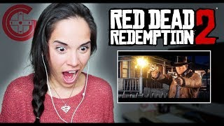 Red Dead Redemption 2 Reaction! (Trailer #2)