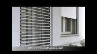 Kss Thailand Roller Shutter Louver Intro