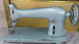 видео Швейная промышленная машина 1022, 22 класс