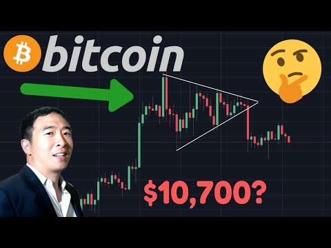 $10,700 HORIZONTAL TRIANGLE TARGET IN PLAY?! | Next US President PRO BITCOIN!? | BTC Halving