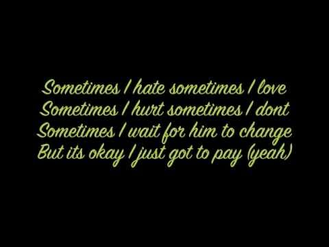 Perfect Nightmare- Shontelle  (Lyrics on screen)