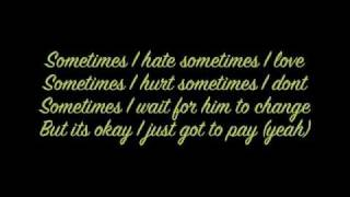 Perfect Nightmare- Shontelle  (Lyrics on screen)