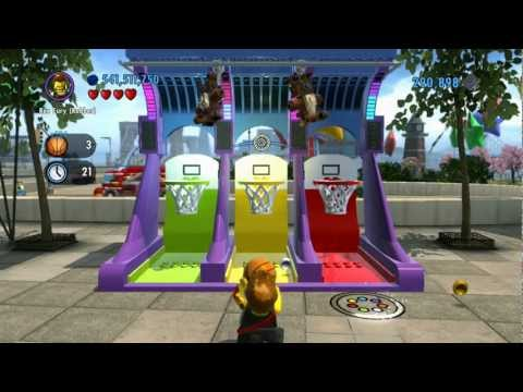 LEGO City Undercover 100% Guide - Festival Square (Overworld Area) - All Collectibles