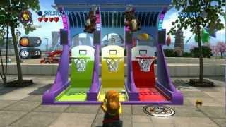 LEGO City Undercover 100% Guide - Festival Square (Overworld Area) - All Collectibles