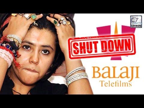 Ekta Kapoor's Balaji Telefilms To SHUT DOWN? | LehrenTV