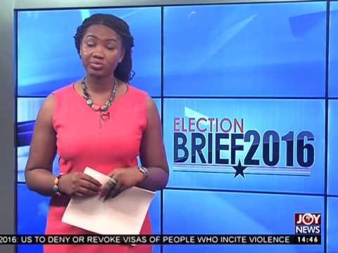 Parliamentary Ballot Sheets - Election Brief on Joy News (15-11-16)