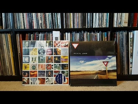 Unboxing - Pearl Jam Yield (88875188981) & No Code (88985303661) Vinyl LP Reissue