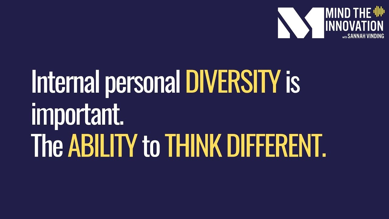 Download Internal personal diversity is important. The ability to think different.