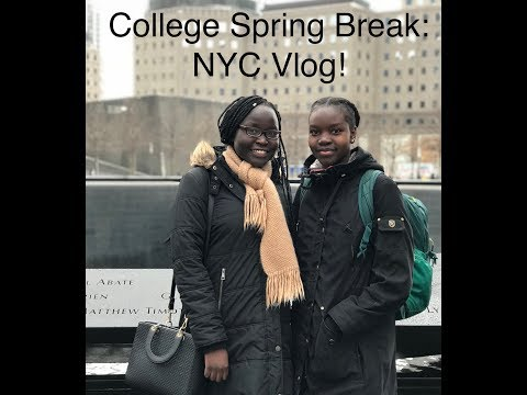 SPRING BREAK NYC VLOG: WE'RE IN A MUSIC VIDEO