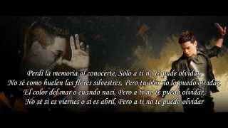 DE TI NO ME VOY A OLVIDAR - Victor Drija - Video letra