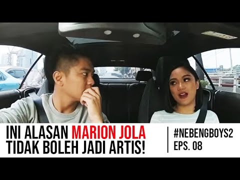 Marion Jola NANGIS Gara-gara Boy William - #NebengBoy S2 Eps. 8