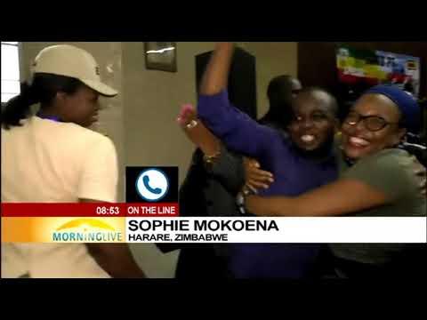 Latest update on Zimbabwe, Sophie Mokoena reports