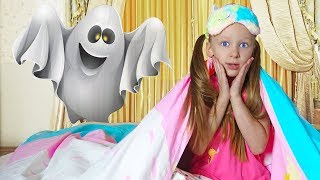 Лиза и история для детей о том как не нужно боятся спать самой