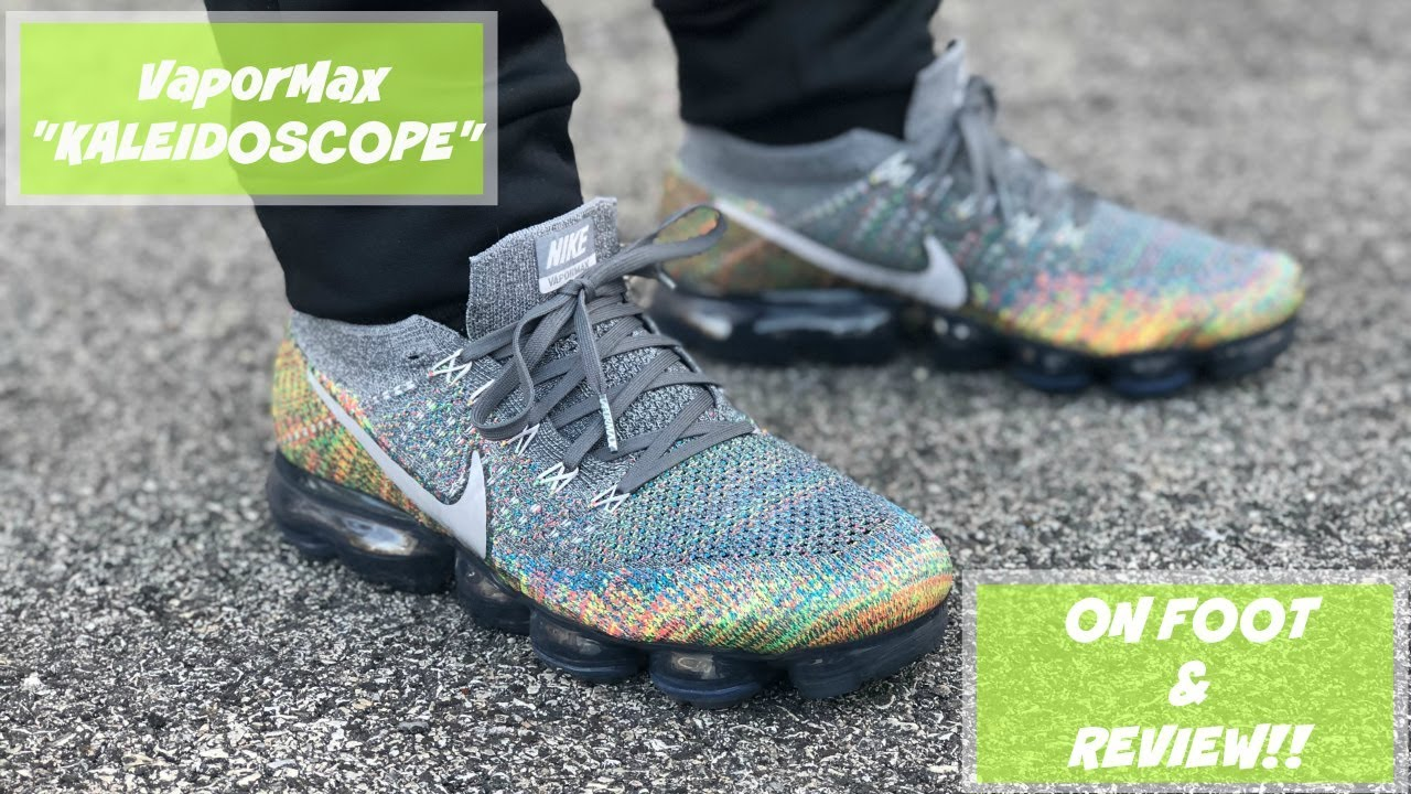 "58c3c04b4dfd NIKE VAPORMAX ""KALEIDOSCOPE"" UNBOXING + REVIEW + ON FOOT!!! ARE THESE THE  BEST MULTICOLOR VAPORMAX"