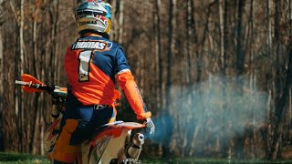 RAW KTM 250 SX 2-Stroke Enduro Action