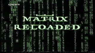 "Matrix Reloaded Making Of ""German"" ""2003"""