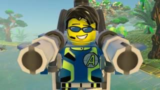 LEGO City Undercover — трейлер DLC Agents