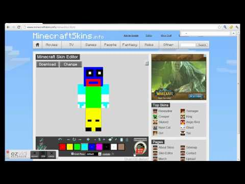 How To Upload Minecraft Skins