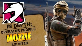 Rainbow Six Siege - In Depth: HOW TO USE MOZZIE - Operator Profile