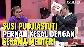 Susi Pudjiastuti Pernah Kesal Dengan Sesama Menteri - Kerja Belum Selesai (bag 3)