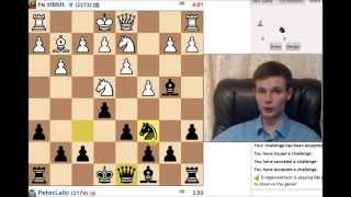 P.L. live blitz chess #47 DUAL COMMENTARY
