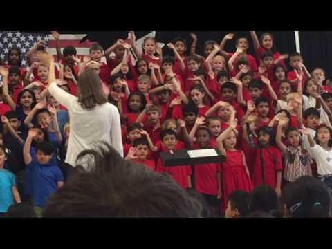 Shresth musical performance at Moorefield elementary school part6
