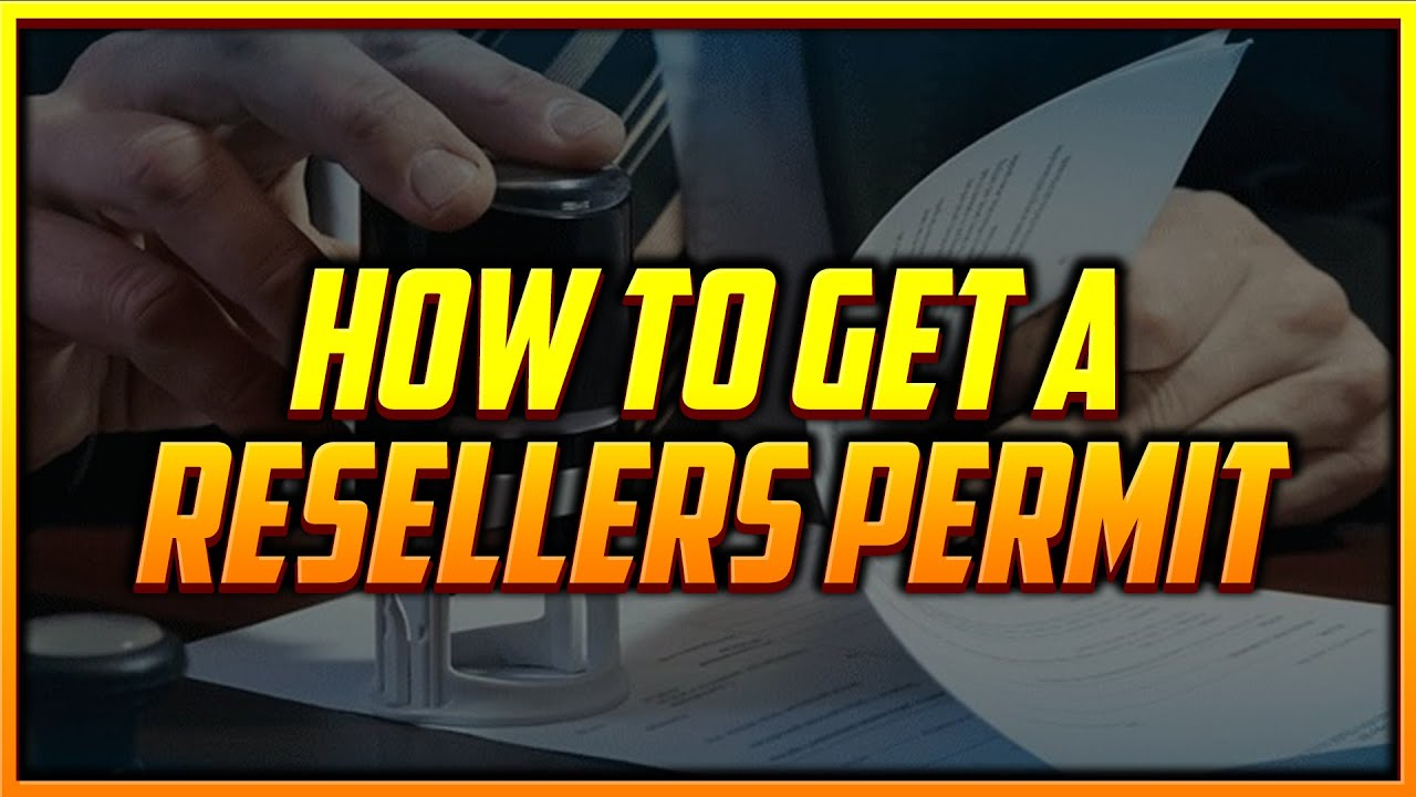 How to Apply for a Resale License so You Can Buy Products with No Sales Tax