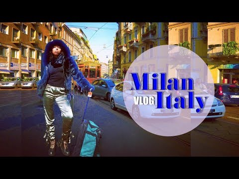 VLOG: MILAN, Italy   Birthday Trip from My Boyfriend