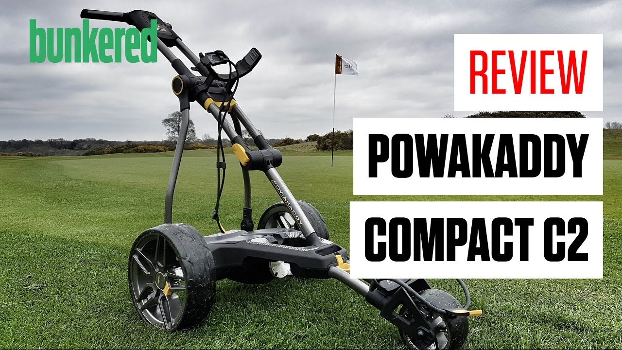 Powakaddy Compact C2i Electric Trolley - #1 Online Dealer