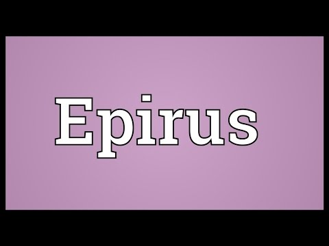Epirus Meaning