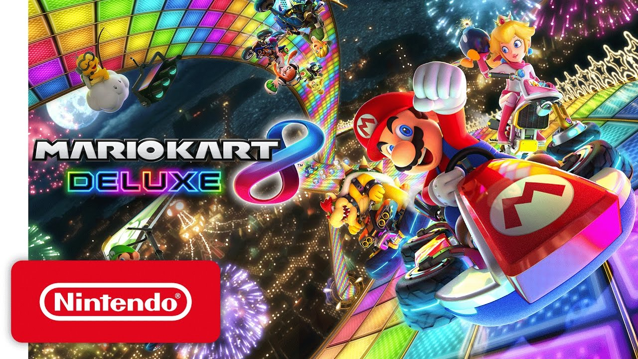 Mario Kart 8 Deluxe Nintendo Switch Presentation 2017 Trailer