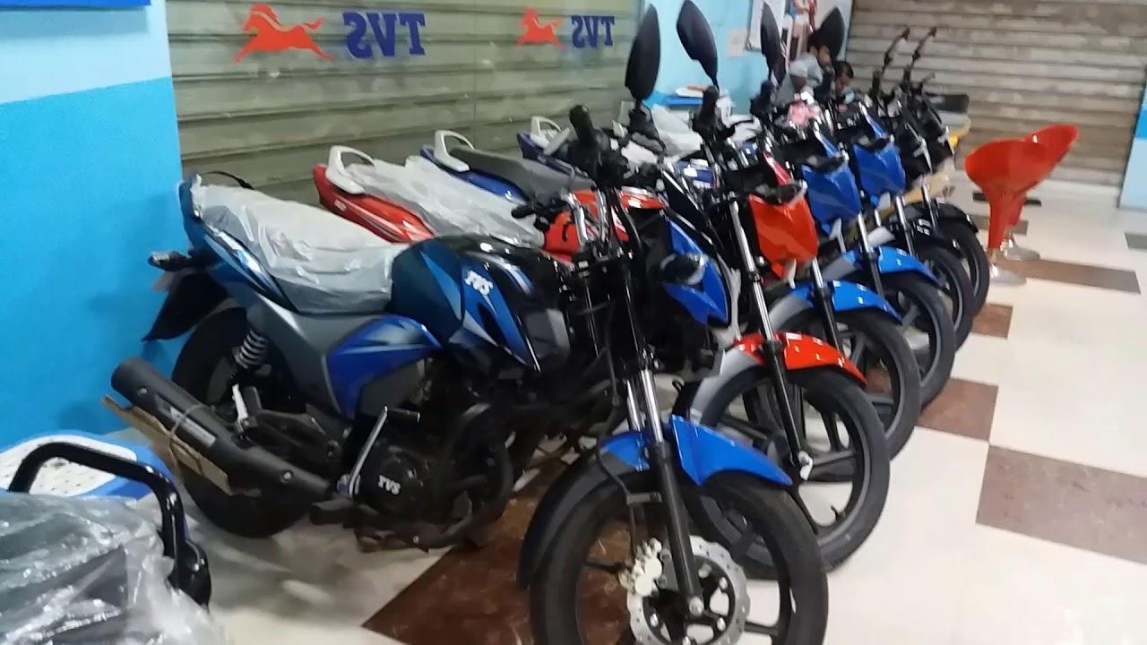 tvs motorcycles showroom in dhaka-bangladesh - youtube