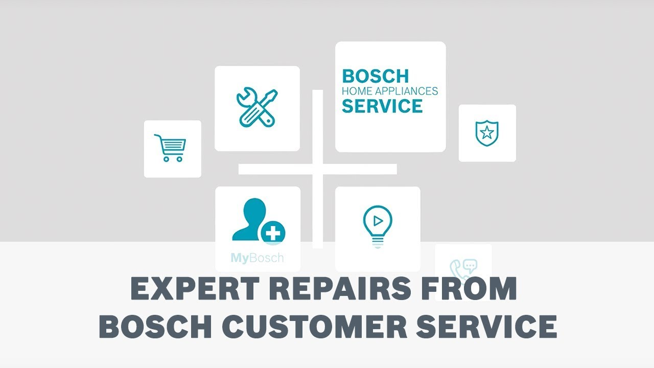 expert repairs from bosch customer service youtube. Black Bedroom Furniture Sets. Home Design Ideas