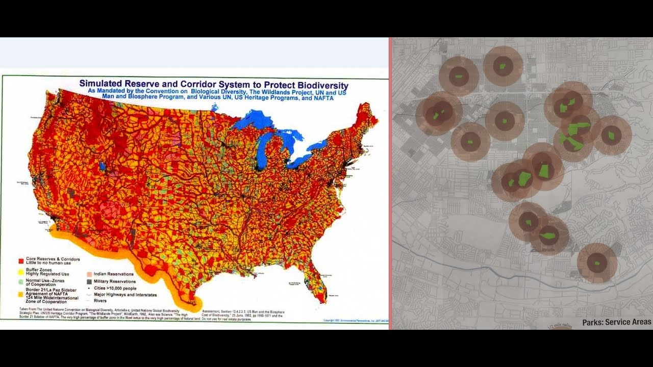 GRINDALL TALKS AGENDA IN CALIFORNIA IN FRONT OF GROUP OF - Agenda 21 map of us