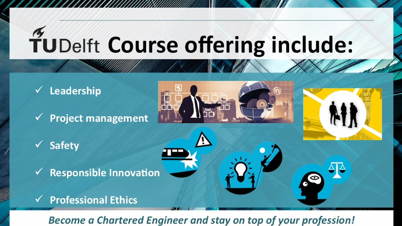 KIVI partners with TU Delft for online Chartered Engineer