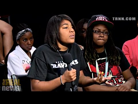 Baltimore Youth Speak about How to Reduce Violence (3/3)