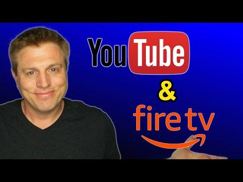 Amazon Fire TV Youtube App & Youtube On Echo Show