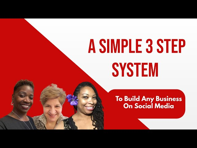 A Simple 3 Step System To Build Any Business on Social Media