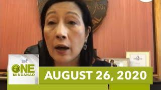 One Mindanao: August 26, 2020