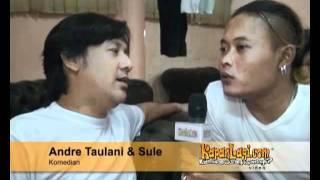 Aksi Kocak Sule Jadi Wartawan!