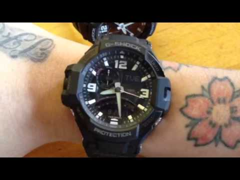 GA-1000 G-Shock Aviator review with Danny Handsome