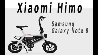 "Xiaomi Himo, Samsung Galaxy הערה 9 - ""Monobrow"" לא))))"