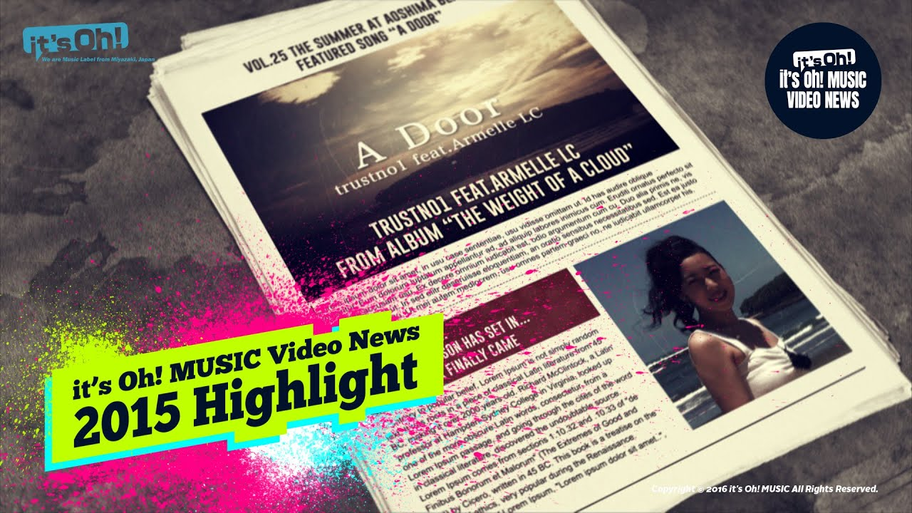 Video News Spin-off#31 it's Oh! MUSIC Video News 2015 Highlight
