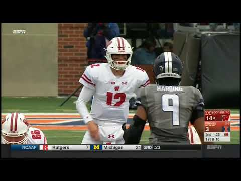 2017 - Wisconsin Badgers at Illinois Fighting Illini in 30 Minutes