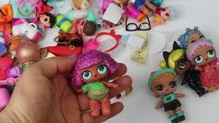 LOL Bebek Koleksiyonumuzu Düzenliyoruz. Sürpriz Kapı Arkası Organizer Hediye Newchic Bidünya Oyuncak