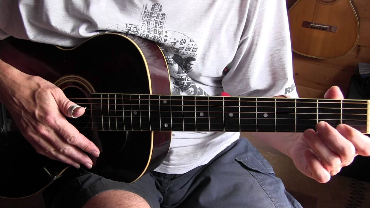 bumble bee blues fingerpicking guitar lesson tab available
