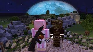 Нашла Огромный Лагерь Выживших!  - Зомби апокалипсис в Майнкрафт! (Minecraft - Сериал)