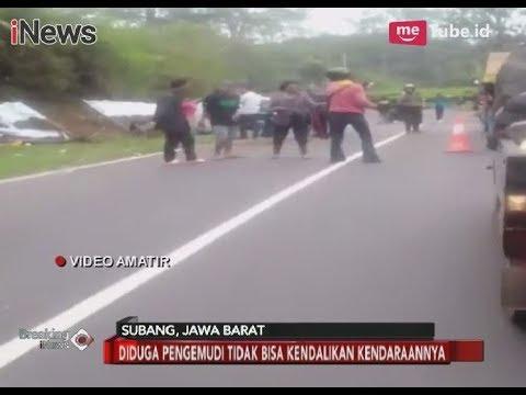 Terjadi Lagi!! Video Detik-detik Pasca Kecelakaan Maut di Tanjakan Emen - Breaking News 12/03