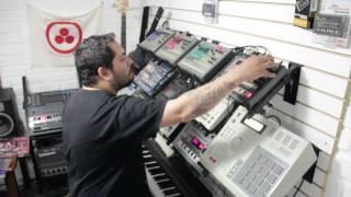 Jungle drum n bass live - Korg Electribe + Roland Mc303 + Akai MPC2000