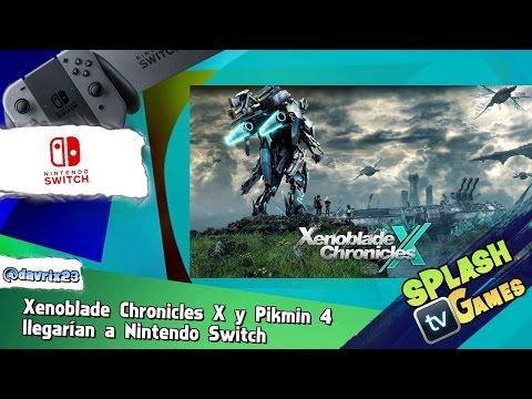 Xenoblade Chronicles X y Pikmin 4  llegarían a Nintendo Switch
